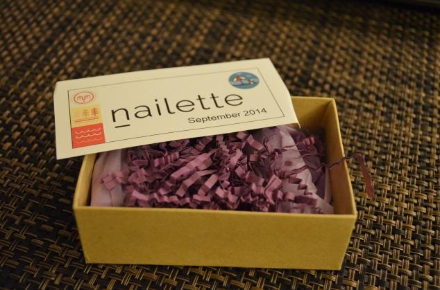 Nailette September 2014 Box