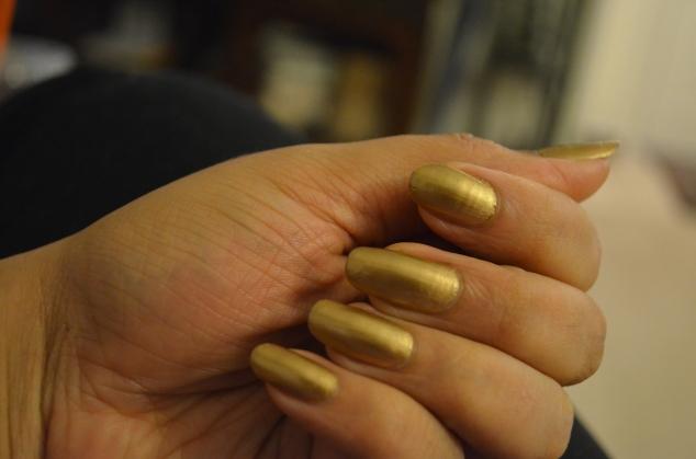 Mahima -Amber Gold Chrome