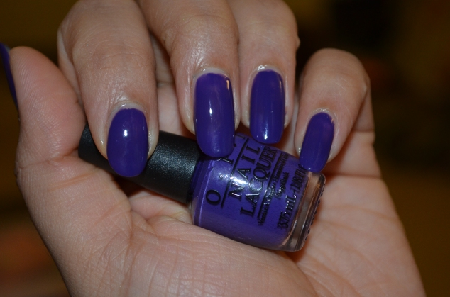 OPI Do You Have This Color In Stockholm? With Flash